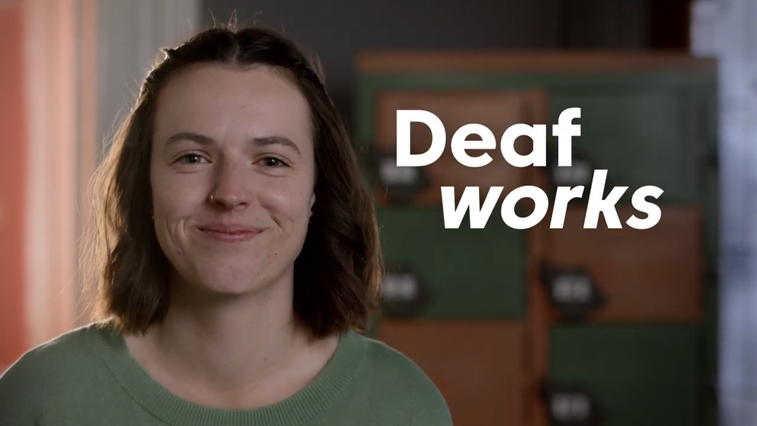 Deaf Works Natasha Text