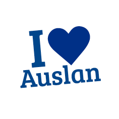 I Love Auslan - Blue
